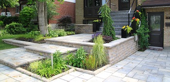 Classic Modern Landscaping in Cartierville