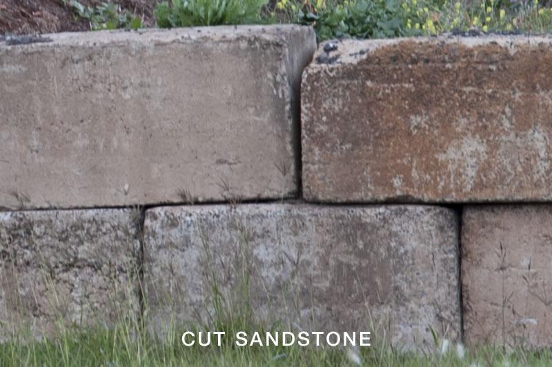 Cut Sandstone Blocks : Pavers toowoomba retaining wall blocks garden city