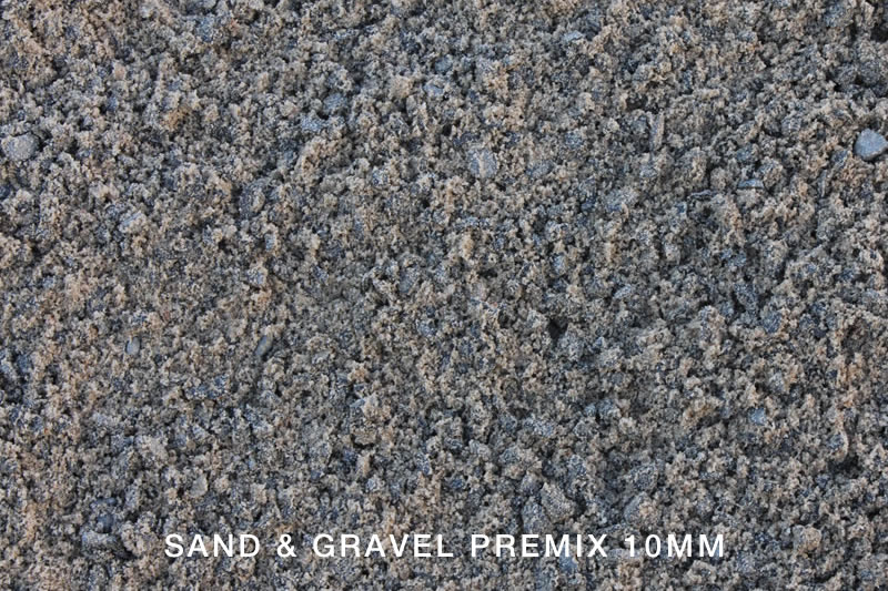 Sand and Gravel Premix 10mm