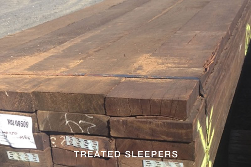 Treated Sleepers